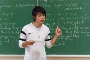 Thí sinh Phan Hữu Mạnh - Đội 3